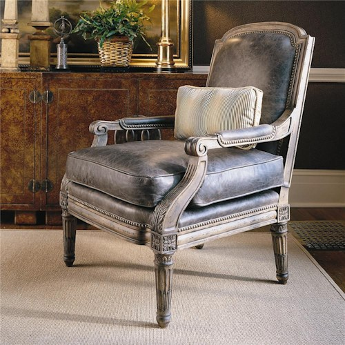 Century Century Chair Arm Chair with Exquiste Detailing