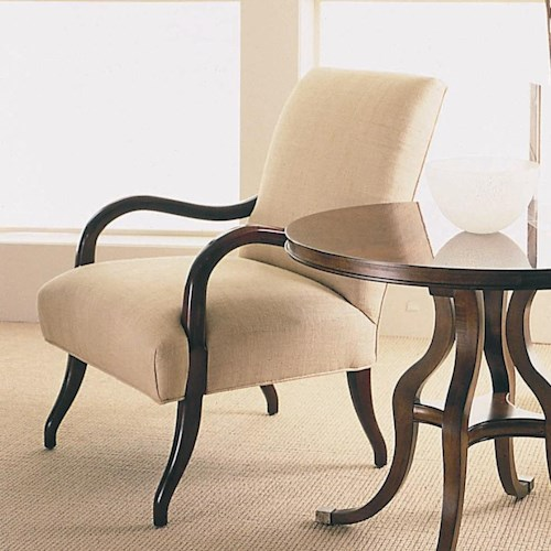 Century Century Chair Square Back and Seat Arm Chair