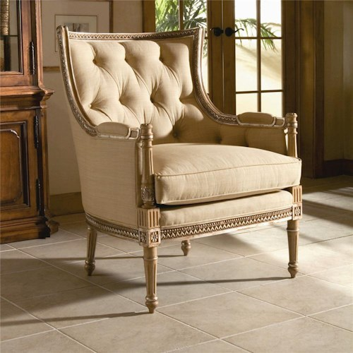 Century Century Chair Tufted Back Chair