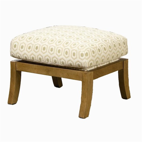 Century Century Chair Sleek Framed Ottoman
