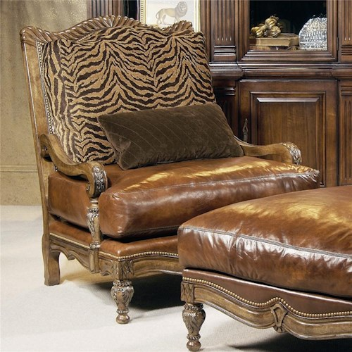 Century Century Chair Spacious Pillow Top Traditional Armchair