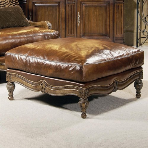 Century Century Chair Spacious Pillow Top Traditional Ottoman