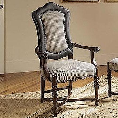 Century Century Chair Nailhead Trimmed Armchair