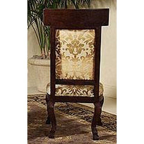 Century Century Chair Wood Panel Back Chair