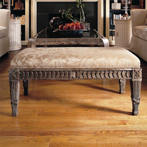 Century Century Chair Bench with Intricate Base Design