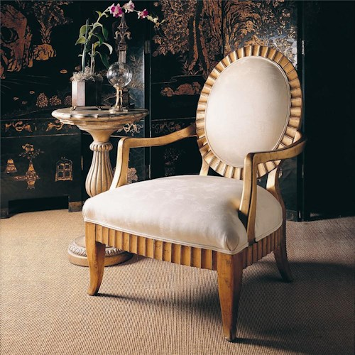 Century Century Chair Oval Shaped Design Armchair