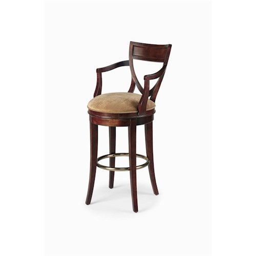 Century Century Chair Barstool with Shield Back Design