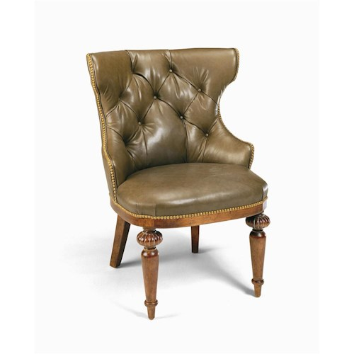 Century Century Chair Tufted Chair with Nailhead Detailing
