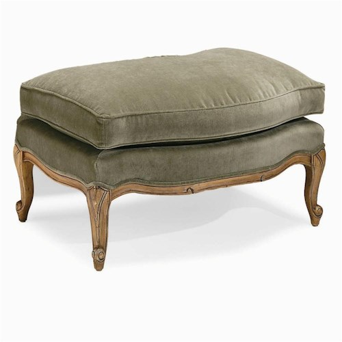 Century Century Chair Plush Ottoman