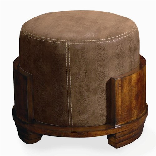 Century Century Chair Ottoman On Top or a Wood Frame