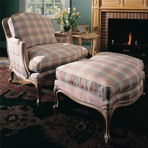 Century Century Chair Plush Chair and Ottoman