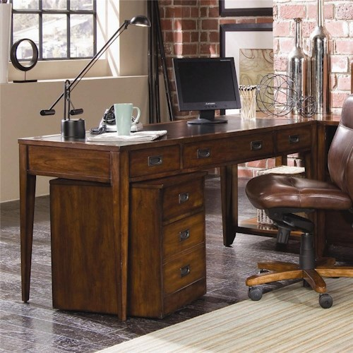Hooker Furniture Danforth Executive Leg Desk
