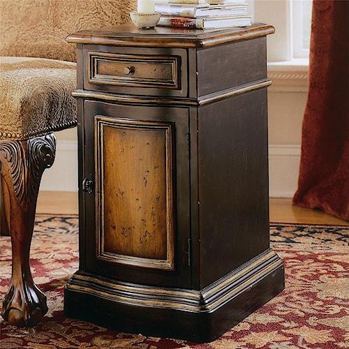 Hooker Furniture Preston Ridge One Door, One Drawer Hall Chest