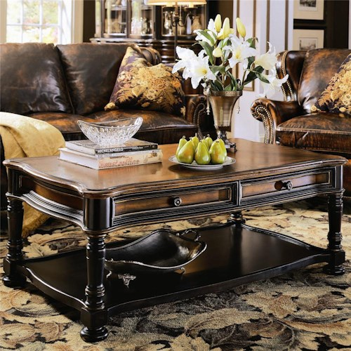 Hooker Furniture Preston Ridge Rectangular Cocktail Table