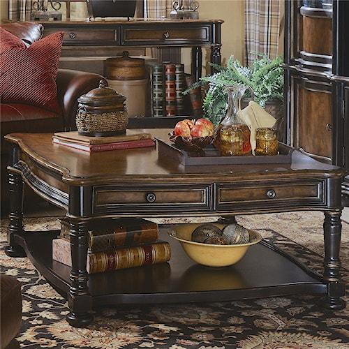 Hooker Furniture Preston Ridge Square Cocktail Table