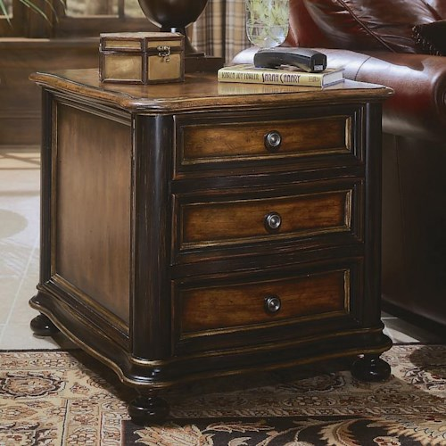 Hooker Furniture Preston Ridge Chairside Chest