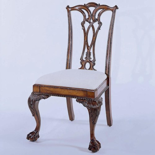 Hooker Furniture 434 Ball and Claw Desk Chair
