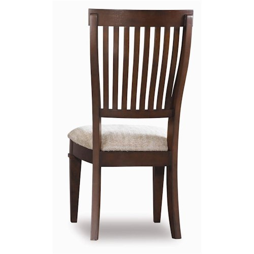 Hooker Furniture Abbott Place Slat Back Side Chair