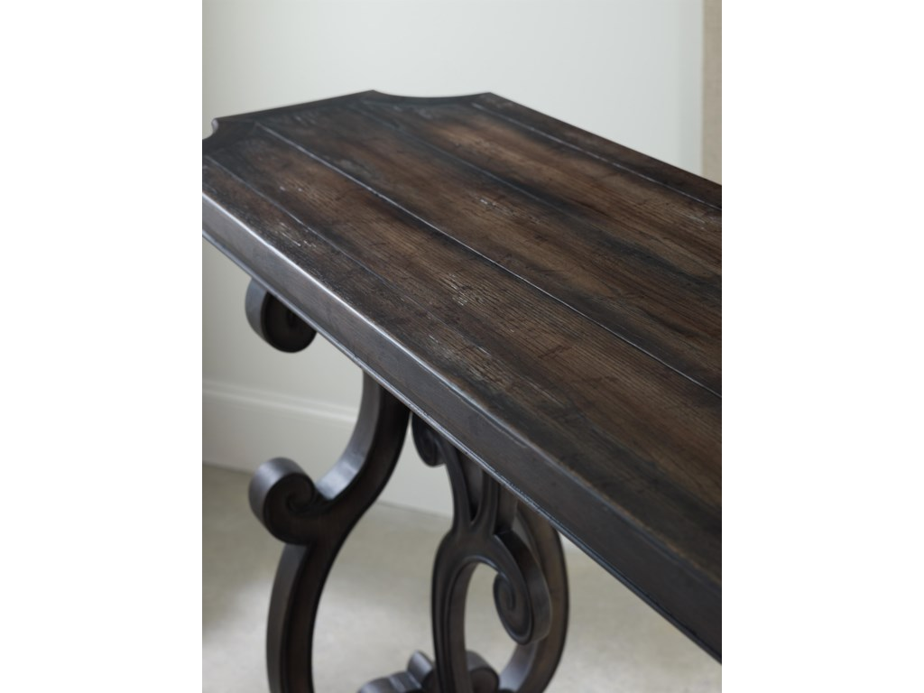 Decoratively Planked Top