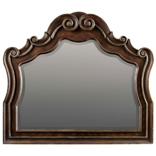 Hooker Furniture Adagio Mirror with Decorative Molding