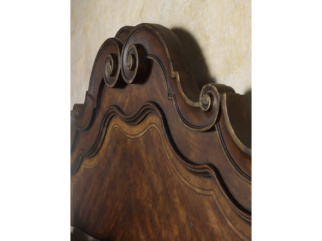View of Headboard Detail