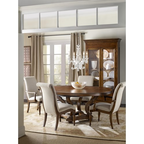 Hamilton Home Sentinel: Pecan Formal Dining Room Group