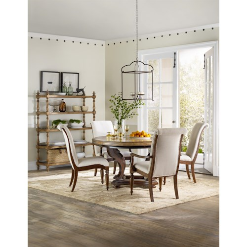 Hamilton Home Sentinel: Toffee Formal Dining Room Group