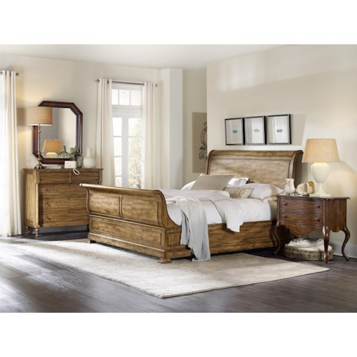 Hooker Furniture Archivist California King Bedroom Group