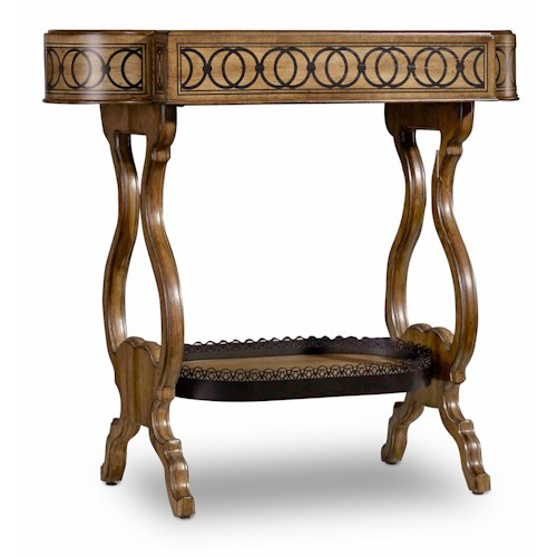 Hamilton Home Sentinel: Toffee Accent End Table with Tray Top