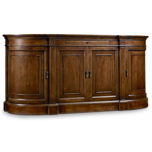 Hooker Furniture Archivist Sideboard with Bluestone Top