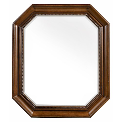 Hooker Furniture Archivist Octagonal Portrait Mirror