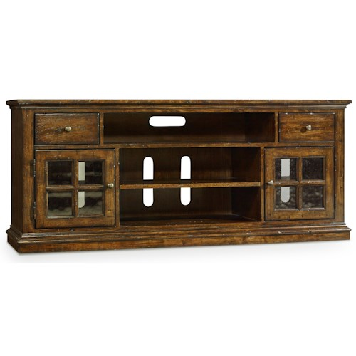 Hamilton Home Brantley Entertainment Console with Speaker Compartment