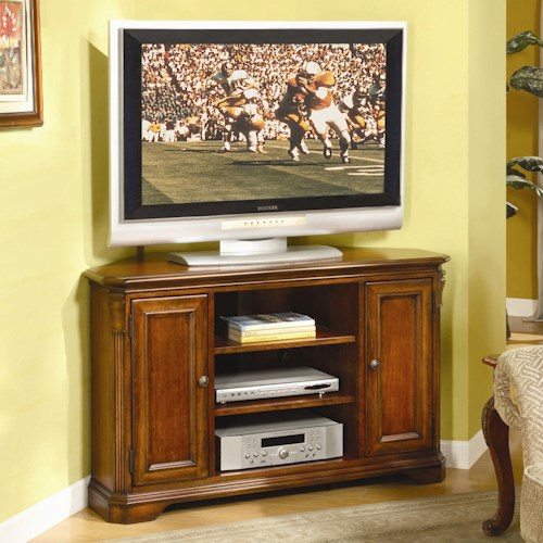 Hamilton Home Brookhaven Corner TV Console