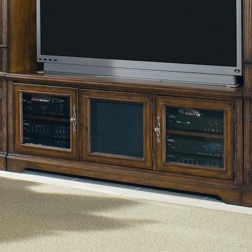 Hooker Furniture Brookhaven Three Door TV Console