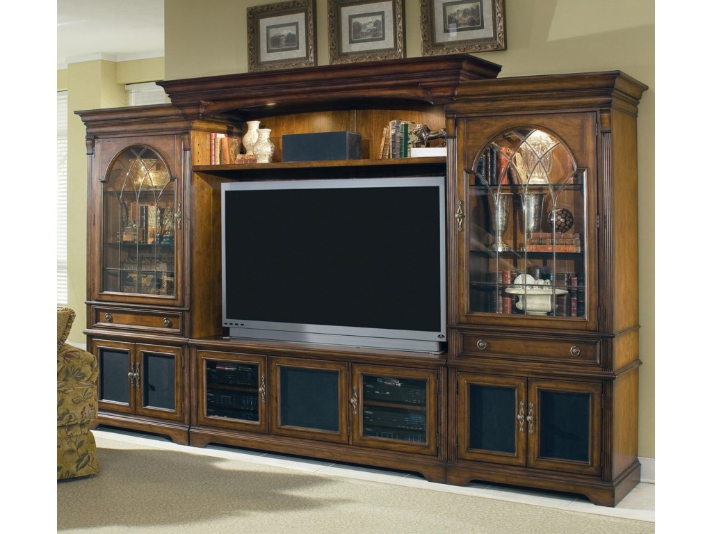 Shown with Left and Right Piers, Back Panel, Light Bridge, and Shelf