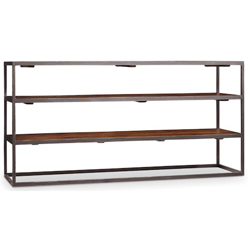 Hooker Furniture Chadwick Entertainment Console with 2 Shelves