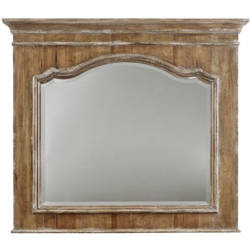 Hamilton Home Chatelet Mirror with Crown Molding