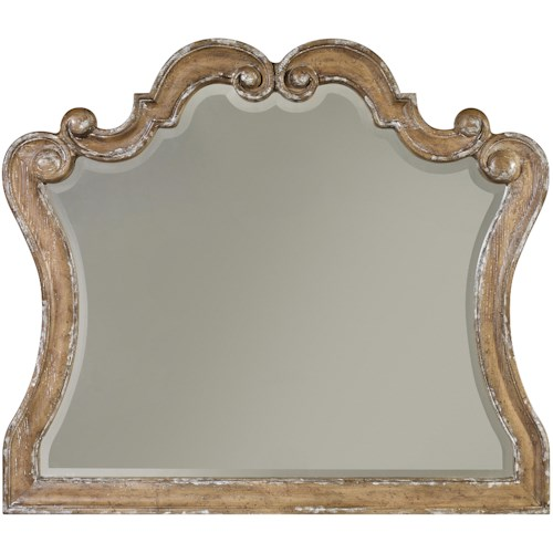 Hamilton Home Chatelet Mirror with Scroll Motif
