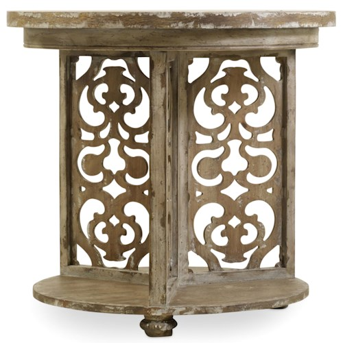 Hamilton Home Chatelet Round Accent Table