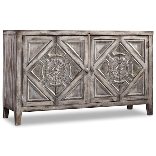 Hamilton Home Chatelet Chest with Two Shelves