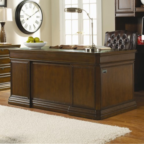 Hooker Furniture Cherry Creek  Traditional Executive Desk