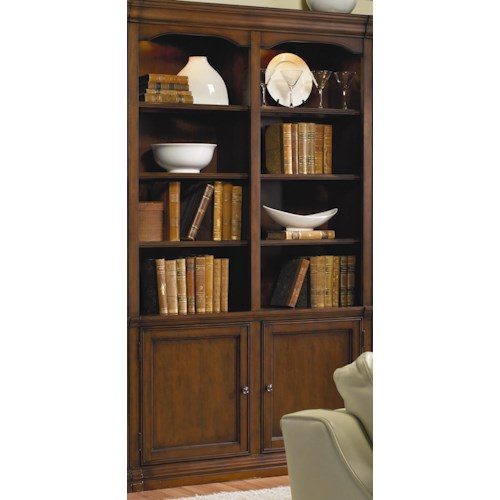 Hamilton Home Cherry Creek  Traditional 52 inch Wall Bookcase