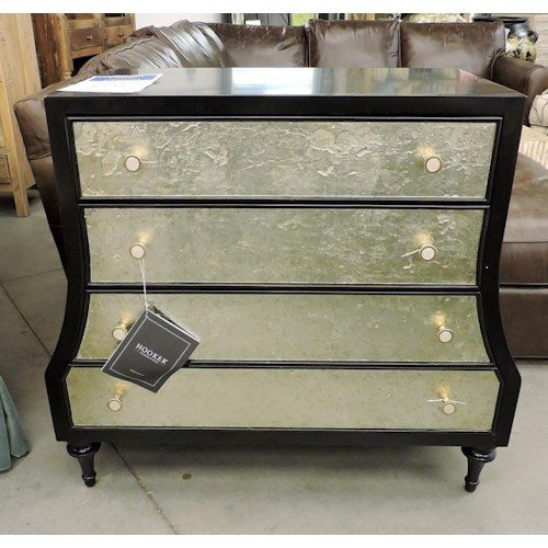 Hooker Furniture Clearance Mirrored Bachelors Chest By Cynthia Rowley