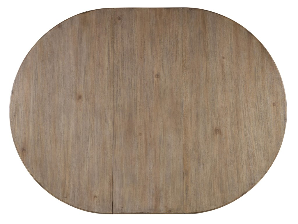 View of Table Top with 18 Inch Leaf