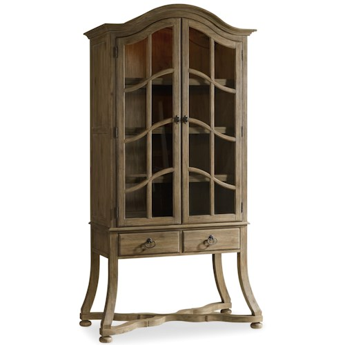 Hamilton Home Corsica Display Cabinet with Touch Lighting