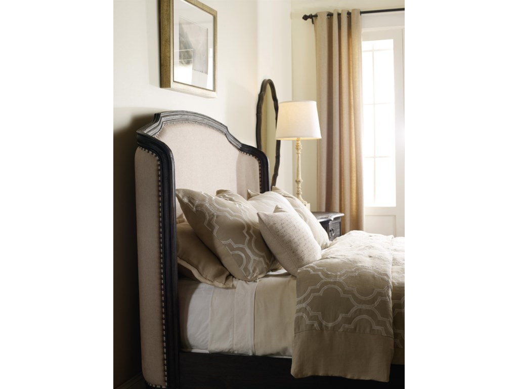 View of Upholstered Headboard