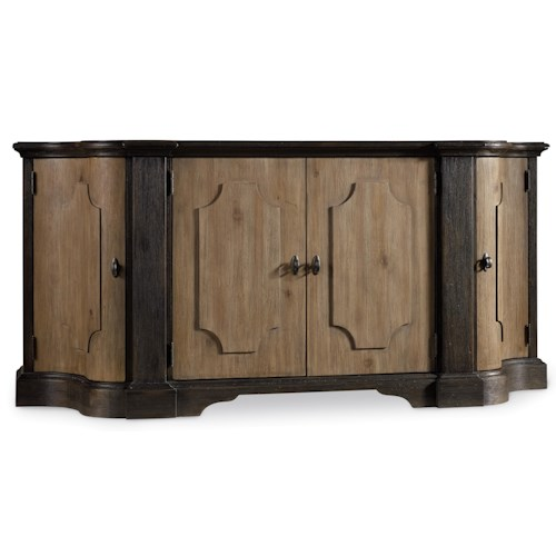 Hooker Furniture Corsica Credenza with Felt Lined Tray Drawer
