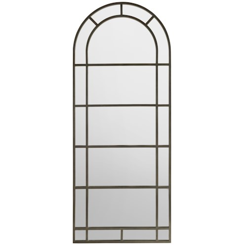 Hamilton Home Corsica Metal Floor Mirror with Arched Top