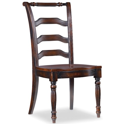 Hooker Furniture Eastridge Desk Chair wtih Ladder Back