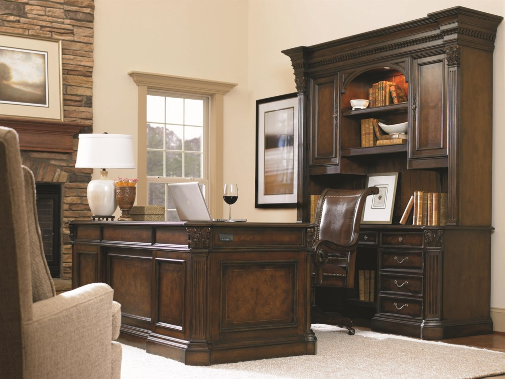 Shown with Computer Credenza, Credenza Hutch and Tilt Swivel Chair
